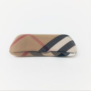 Burberry Nova Hard Reading Glasses Case